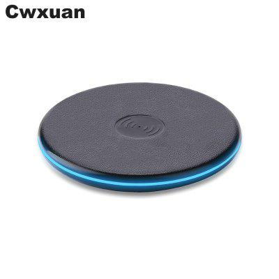 Cwxuan Qi Wireless Charger Pad for Qi-devicesChargers &amp; Cables<br>Cwxuan Qi Wireless Charger Pad for Qi-devices<br><br>Colors: Black<br>Material: ABS<br>Package Contents: 1 x Qi Wireless Charging Pad , 1 x USB Cable<br>Package size (L x W x H): 16.00 x 12.00 x 2.00 cm / 6.3 x 4.72 x 0.79 inches<br>Package weight: 0.0850 kg<br>Product size (L x W x H): 9.70 x 9.70 x 1.00 cm / 3.82 x 3.82 x 0.39 inches<br>Product weight: 0.0490 kg