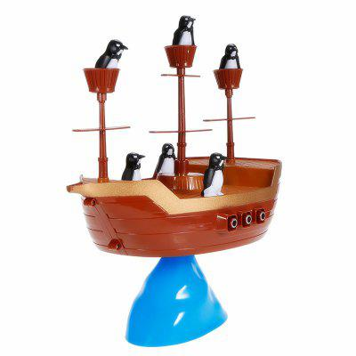 Interesting Creative Toys Desktop BalanceNovelty Toys<br>Interesting Creative Toys Desktop Balance<br><br>Features: Creative Toy<br>Materials: ABS<br>Package Contents: 1 x Pirates Balance Toy<br>Package size: 26.50 x 8.00 x 26.50 cm / 10.43 x 3.15 x 10.43 inches<br>Package weight: 0.6000 kg<br>Product size: 31.00 x 27.00 x 27.00 cm / 12.2 x 10.63 x 10.63 inches<br>Product weight: 0.4500 kg<br>Series: Entertainment<br>Theme: Sport