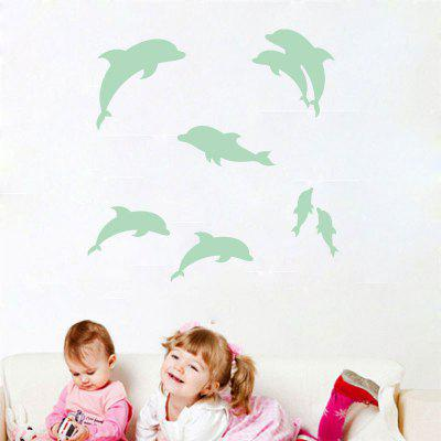 Noctilucent Engraving Adorable Dolphin Cartoon Switch Wall StickerWall Stickers<br>Noctilucent Engraving Adorable Dolphin Cartoon Switch Wall Sticker<br><br>Art Style: Plane Wall Stickers<br>Function: Decorative Wall Sticker<br>Material: Vinyl(PVC)<br>Package Contents: 1  x  Switch Sticker<br>Package size (L x W x H): 31.00 x 23.00 x 3.00 cm / 12.2 x 9.06 x 1.18 inches<br>Package weight: 0.0400 kg<br>Product size (L x W x H): 29.00 x 21.00 x 1.00 cm / 11.42 x 8.27 x 0.39 inches<br>Product weight: 0.0300 kg<br>Quantity: 1<br>Subjects: Others<br>Suitable Space: Living Room,Bedroom,Dining Room<br>Type: Plane Wall Sticker