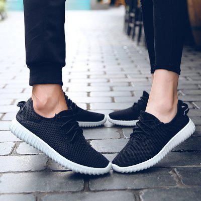 Men Shoes Breathable Sport Plus Size Couple Summer Drive Leisure Black SneakerMen's Sneakers<br>Men Shoes Breathable Sport Plus Size Couple Summer Drive Leisure Black Sneaker<br><br>Closure Type: Lace-Up<br>Contents: 1x Pair of Shoes<br>Function: Slip Resistant<br>Materials: Cotton<br>Occasion: Casual, Daily, Running<br>Outsole Material: Rubber<br>Package Size ( L x W x H ): 30.00 x 20.00 x 10.00 cm / 11.81 x 7.87 x 3.94 inches<br>Package weight: 0.2000 kg<br>Pattern Type: Solid<br>Product weight: 0.1000 kg<br>Seasons: Spring,Summer,Autumn<br>Style: Comfortable, Leisure, Casual<br>Toe Shape: Round Toe<br>Type: Sports Shoes<br>Upper Material: Cloth