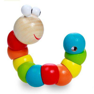 Colorful Torque Twister Wooden Puzzle ToyNovelty Toys<br>Colorful Torque Twister Wooden Puzzle Toy<br><br>Features: Soft, Creative Toy<br>Materials: Wood<br>Package Contents: 1 x Toy<br>Package size: 19.00 x 4.00 x 4.00 cm / 7.48 x 1.57 x 1.57 inches<br>Package weight: 0.0700 kg<br>Product size: 18.00 x 3.60 x 3.60 cm / 7.09 x 1.42 x 1.42 inches<br>Product weight: 0.0600 kg<br>Series: Entertainment<br>Theme: Other,Animals