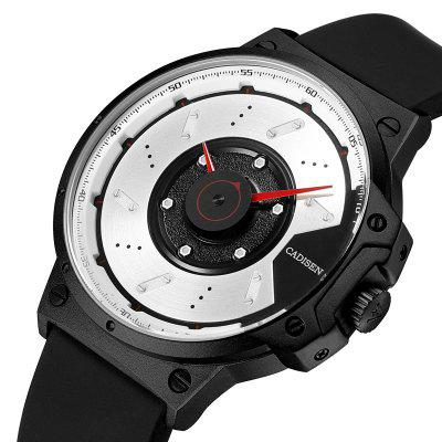 CADISEN C9059 Men Sports Waterproof Quartz WatchMens Watches<br>CADISEN C9059 Men Sports Waterproof Quartz Watch<br><br>Available Color: Silver,Black<br>Band material: Silicone<br>Brand: CADISEN<br>Case material: Alloy<br>Clasp type: Pin buckle<br>Display type: Analog<br>Movement type: Quartz watch<br>Package Contents: 1 x Watch,1 x Box<br>Package size (L x W x H): 16.00 x 8.00 x 4.00 cm / 6.3 x 3.15 x 1.57 inches<br>Package weight: 0.1500 kg<br>Product size (L x W x H): 20.00 x 4.50 x 1.00 cm / 7.87 x 1.77 x 0.39 inches<br>Product weight: 0.0650 kg<br>Shape of the dial: Round<br>Special features: Light<br>Watch mirror: Mineral glass<br>Watch style: Fashion, Casual, Business, Retro, Outdoor Sports, Military, Cool<br>Watches categories: Men