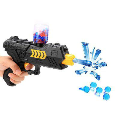 Amusing Toy Gun Soft Bullet Water Pistol Gift Kids Crystal Shooting Game SetOutdoor Fun &amp; Sports<br>Amusing Toy Gun Soft Bullet Water Pistol Gift Kids Crystal Shooting Game Set<br><br>Age: 5 Years+<br>Applicable gender: Unisex<br>Design Style: Other<br>Features: Others<br>Gender: Unisex<br>Material: ABS<br>Package Contents: 1 x Set of Water Gun Toys<br>Package size (L x W x H): 21.00 x 14.00 x 5.00 cm / 8.27 x 5.51 x 1.97 inches<br>Package weight: 0.0600 kg<br>Product size (L x W x H): 20.00 x 13.00 x 4.00 cm / 7.87 x 5.12 x 1.57 inches<br>Product weight: 0.0500 kg<br>Small Parts: No<br>Type: Toy Weapon<br>Washing: No
