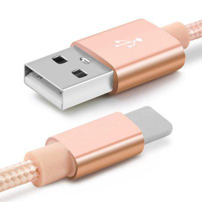Heavy Metal Braided Micro USB CableChargers &amp; Cables<br>Heavy Metal Braided Micro USB Cable<br><br>Accessories type: Cable<br>Color: Rose Gold,Black,White,Gold,Rose Gold,Black,White,Gold<br>Interface Type: Micro USB<br>Material ( Cable&amp;Adapter): TPE, Aluminum Alloy<br>Package Contents: 1 x Cable<br>Package size (L x W x H): 10.00 x 15.00 x 3.00 cm / 3.94 x 5.91 x 1.18 inches<br>Package weight: 0.0400 kg<br>Product Size(L x W x H): 100.00 x 7.00 x 2.00 cm / 39.37 x 2.76 x 0.79 inches<br>Product weight: 0.0350 kg<br>Type: Cable
