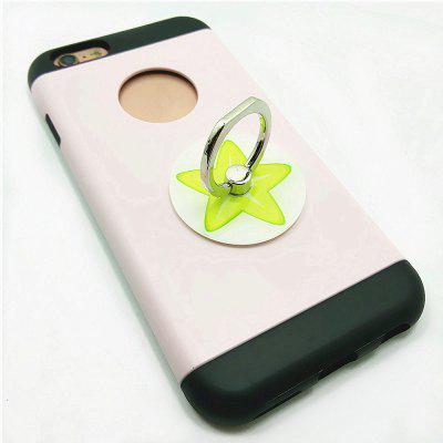 PC Universal Mobile Finger Stand Estrela do Star Pattern para iPhone 6 / 6s / 7/8