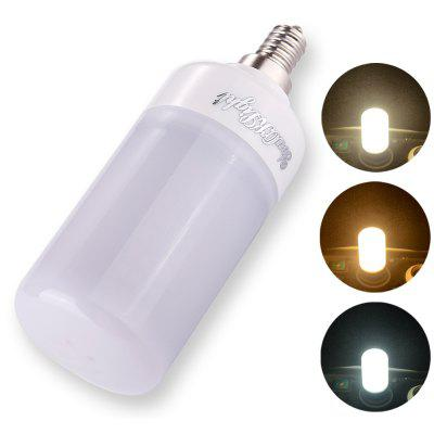 YouOKLight E12 6W 160SMD - 2835 Three-color Dimming LED Bulb AC 110 - 130V