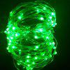 YouOKLight USB 10m Waterproof Green Light Silver Wire DIY String Light - GREEN