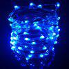 YouOKLight USB 10m Waterproof Cold Warm White Blue Red Silver Wire DIY String Light - BLUE