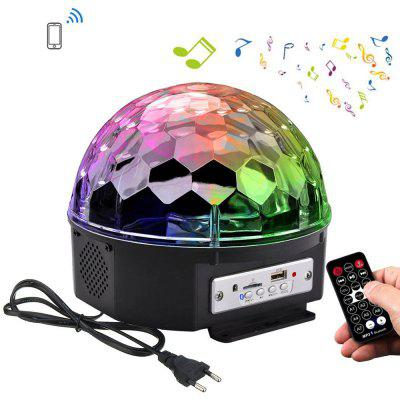 Buy RGB COLOR YouOKLight RGB Bluetooth LED Disco Ball Light DJ Stage Lighting AC85 265V for $21.83 in GearBest store