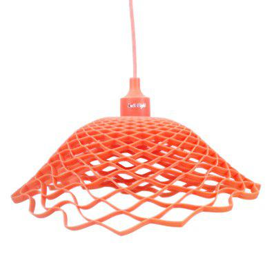 YouOKLight Modern Silica Gel E27 Pendant Light Mesh HolderLED Accessories<br>YouOKLight Modern Silica Gel E27 Pendant Light Mesh Holder<br><br>Accessory type: Lamp Holder<br>Available Color: Orange<br>Connector Type: E27<br>Input Voltage (V)  : 85-265<br>Material: Silicone<br>Package Contents: 1 x Modern Chandelier Fixture (No Include Lamp)<br>Package size (L x W x H): 16.00 x 16.00 x 16.00 cm / 6.3 x 6.3 x 6.3 inches<br>Package weight: 0.5070 kg