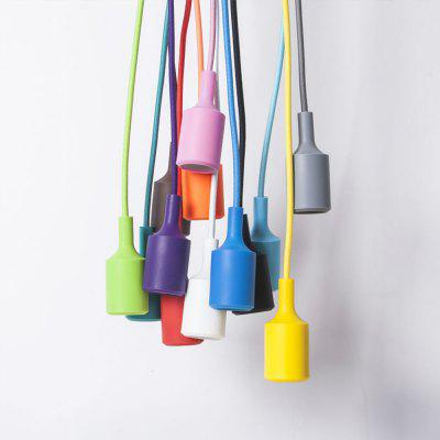 YouOKLightE27 Modern Art Pendant Light Holder - Black / Red / Yellow / White / Green / Blue / pink  No lights includedLED Accessories<br>YouOKLightE27 Modern Art Pendant Light Holder - Black / Red / Yellow / White / Green / Blue / pink  No lights included<br><br>Accessory type: Bare Pill<br>Color: Pink,Black,White,Red,Blue,Green,Yellow<br>Material: Plastic<br>Model: YK6616<br>Package Contents: 1 x Pendant Light Case (Bulb is Not Included)