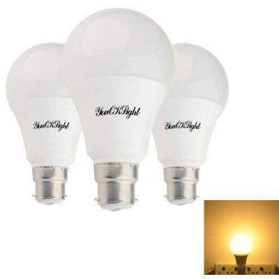 3PCS YouOKLight B22 A70 12W Hot White LED Ampoule AC85 - 265V