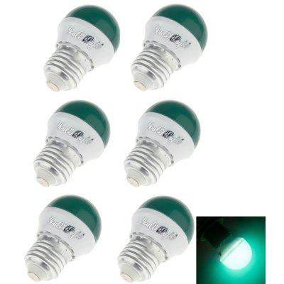 Buy GREEN YouOKLight Romantic Style E27 3W 240lm 6SMD 2835 LED Red / Blue / Green / Yellow Holiday Light Bulb 6PCS for $6.09 in GearBest store
