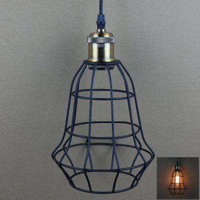 YouOKLight E27 Retro Iron Cage Chandelier Light Holder