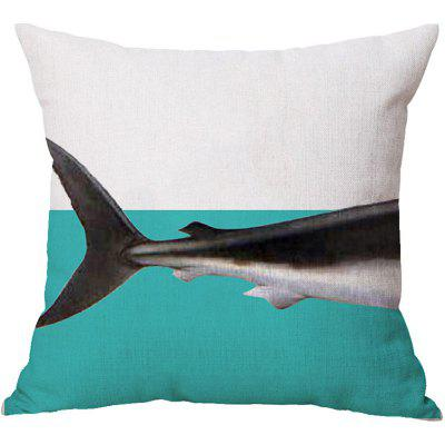 2PCS Shark Pattern Linen Pillow Case Decorative PillowcasePillow<br>2PCS Shark Pattern Linen Pillow Case Decorative Pillowcase<br><br>Category: Pillow Case<br>For: All<br>Material: Cotton Linen<br>Occasion: Bedroom, Living Room, KTV, Bar<br>Package Contents: 2 x Pillow Case<br>Type: Novelty, Fashion, Decoration