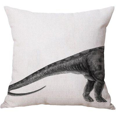 2PCS Dinosaur Pattern Linen Pillow Case Decorative PillowcasePillow<br>2PCS Dinosaur Pattern Linen Pillow Case Decorative Pillowcase<br><br>Category: Pillow Case<br>For: All<br>Material: Cotton Linen<br>Occasion: Bar, Bedroom, KTV, Living Room<br>Package Contents: 2 x Pillow Case<br>Package size (L x W x H): 35.00 x 25.00 x 4.00 cm / 13.78 x 9.84 x 1.57 inches<br>Package weight: 0.2100 kg<br>Product size (L x W x H): 45.00 x 45.00 x 0.20 cm / 17.72 x 17.72 x 0.08 inches<br>Product weight: 0.2000 kg<br>Type: Fashion, Novelty, Decoration