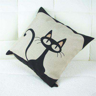 Cartoon Cat Pattern Linen Pillow Case Decorative PillowcasePillow<br>Cartoon Cat Pattern Linen Pillow Case Decorative Pillowcase<br><br>Category: Pillow Case<br>For: All<br>Material: Cotton Linen<br>Occasion: Bedroom, Living Room, KTV, Bar<br>Package Contents: 1 x Pillow Case<br>Type: Novelty, Fashion, Decoration