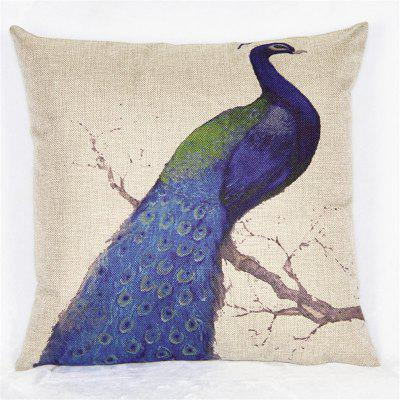 2PCS Peacock Pattern Linen Pillow Case Decorative PillowcasePillow<br>2PCS Peacock Pattern Linen Pillow Case Decorative Pillowcase<br><br>Category: Pillow Case<br>For: All<br>Material: Cotton Linen<br>Occasion: Bedroom, Living Room, KTV, Bar<br>Package Contents: 2 x Pillow Cases<br>Type: Novelty, Fashion, Decoration