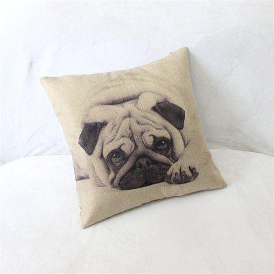 Dog Pattern Linen Pillow Case Decorative PillowcasePillow<br>Dog Pattern Linen Pillow Case Decorative Pillowcase<br><br>Category: Pillow Case<br>For: All<br>Material: Cotton Linen<br>Occasion: Bedroom, Living Room, KTV, Bar<br>Package Contents: 1 x Pillow Case<br>Type: Novelty, Fashion, Decoration