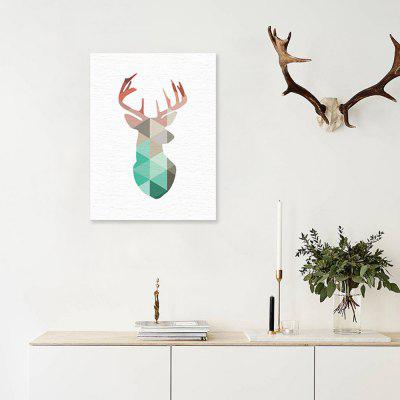 Color Elk Painting Printing Canvas Wall Decor for Home DecorationPrints<br>Color Elk Painting Printing Canvas Wall Decor for Home Decoration<br><br>Craft: Print<br>Form: One Panel<br>Material: Canvas<br>Package Contents: 1 x Printing<br>Package size (L x W x H): 30.00 x 4.00 x 4.00 cm / 11.81 x 1.57 x 1.57 inches<br>Package weight: 0.0400 kg<br>Painting: Without Inner Frame<br>Product size (L x W x H): 30.00 x 40.00 x 0.10 cm / 11.81 x 15.75 x 0.04 inches<br>Product weight: 0.0350 kg<br>Shape: Vertical<br>Style: Fashion<br>Subjects: Abstract<br>Suitable Space: Bedroom,Boys Room,Cafes,Dining Room,Girls Room,Hotel,Kids Room,Kids Room,Living Room,Office,Study Room / Office