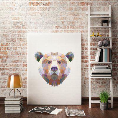 Bear Painting Printing Canvas Wall Decor for Home DecorationPrints<br>Bear Painting Printing Canvas Wall Decor for Home Decoration<br><br>Craft: Print<br>Form: One Panel<br>Material: Canvas<br>Package Contents: 1 x Print<br>Package size (L x W x H): 30.00 x 4.00 x 4.00 cm / 11.81 x 1.57 x 1.57 inches<br>Package weight: 0.0400 kg<br>Painting: Without Inner Frame<br>Product size (L x W x H): 40.00 x 30.00 x 0.10 cm / 15.75 x 11.81 x 0.04 inches<br>Product weight: 0.0350 kg<br>Shape: Vertical<br>Style: Fashion<br>Subjects: Cartoon<br>Suitable Space: Bedroom,Boys Room,Cafes,Dining Room,Girls Room,Kids Room,Kids Room,Living Room,Office,Study Room / Office
