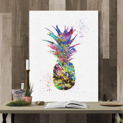 Pineapple Painting Printing Canvas Wall Home Decoration