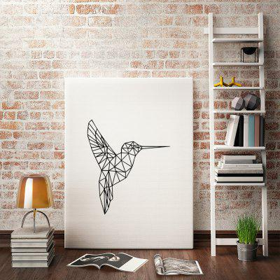 Geometric Hummingbirds Painting Printing Canvas Wall Home DecorationPrints<br>Geometric Hummingbirds Painting Printing Canvas Wall Home Decoration<br><br>Craft: Print<br>Form: One Panel<br>Material: Canvas<br>Package Contents: 1 x Printing<br>Package size (L x W x H): 30.00 x 4.00 x 4.00 cm / 11.81 x 1.57 x 1.57 inches<br>Package weight: 0.0400 kg<br>Painting: Without Inner Frame<br>Product size (L x W x H): 40.00 x 30.00 x 0.10 cm / 15.75 x 11.81 x 0.04 inches<br>Product weight: 0.0350 kg<br>Shape: Vertical<br>Style: Fashion<br>Subjects: Abstract<br>Suitable Space: Bedroom,Boys Room,Cafes,Girls Room,Hotel,Kids Room,Kids Room,Living Room,Office,Study Room / Office
