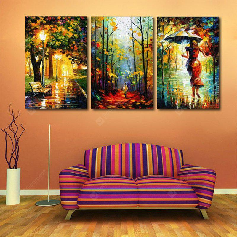 3pcs Abstract Painting Printing Canvas Wall Home Decoration
