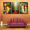 3pcs Abstract Painting Printing Canvas Wall Home Decoration - COLORMIX