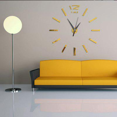 DIY  Acrylic Mirror Wall Clock Stickers Home DecorClocks<br>DIY  Acrylic Mirror Wall Clock Stickers Home Decor<br><br>Battery Quantity: 1<br>Battery Type: AA (not included)<br>Material: Plastic<br>Package Contents: 1 x Clock Sticker, 1 x Movement<br>Powered by: Battery<br>Shape: Round<br>Style: Contemporary, Fashion<br>Theme: Others<br>Time Display: Analog<br>Type: Wall Clock