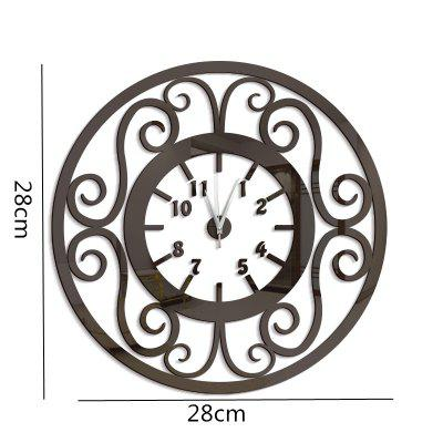DIY Hollow Fower Vine Acrylic Mirror Wall Clock Stickers Home DecorClocks<br>DIY Hollow Fower Vine Acrylic Mirror Wall Clock Stickers Home Decor<br><br>Battery Quantity: 1<br>Battery Type: AA (not included)<br>Package Contents: 1 x Clock Sticker, 1 x Movement<br>Powered by: Battery<br>Shape: Round<br>Style: Fashion, Contemporary<br>Time Display: Analog<br>Type: Wall Clock