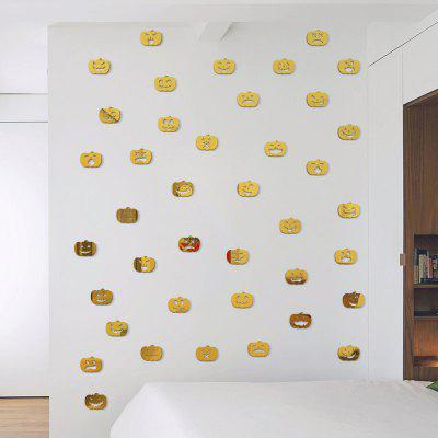 100pcs Small Pumpkin Halloween Mirror Wall Stickers for Wall DecorWall Stickers<br>100pcs Small Pumpkin Halloween Mirror Wall Stickers for Wall Decor<br><br>Art Style: Others<br>Function: Decorative Wall Sticker, 3D Effect<br>Material: Vinyl(PVC)<br>Package Contents: 100 x Stickers<br>Quantity: 100<br>Subjects: Holiday<br>Suitable Space: Living Room,Bedroom,Dining Room,Cafes,Kitchen,Kids Room,Boys Room,Girls Room<br>Type: Mirror Wall Sticker