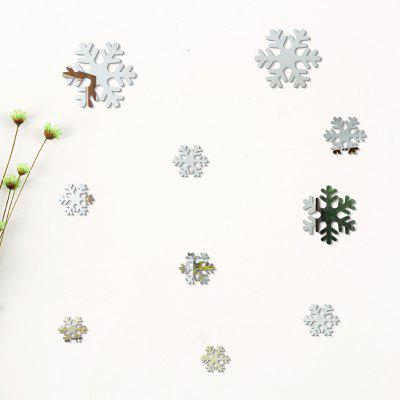 Christmas DIY  Snowflakes Mirror Wall Stickers for Wall DecorWall Stickers<br>Christmas DIY  Snowflakes Mirror Wall Stickers for Wall Decor<br><br>Art Style: Others<br>Function: Decorative Wall Sticker<br>Material: Vinyl(PVC)<br>Package Contents: 10 x Stickers<br>Quantity: 10<br>Subjects: Holiday<br>Suitable Space: Living Room,Bedroom,Dining Room,Cafes,Kids Room,Kitchen,Kids Room,Boys Room,Girls Room<br>Type: Mirror Wall Sticker