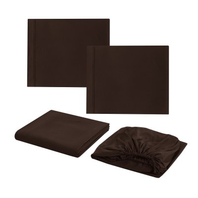 4pcs/Set Fashion Fiber BeddingBedding Sets<br>4pcs/Set Fashion Fiber Bedding<br><br>Package Contents: 2 x Pillowcase: 20 x 30 inches? 1 x Flat Sheet: 81 x 96 inches ?1 x Fitted Sheet: 54 x75 inches<br>Pattern Type: Solid<br>Style: Fresh / Rural