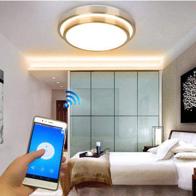 Jiawen LED Wifi Wireless Ceiling Lights Indoor Smart Lighting with App Remote Control AC 110-265V