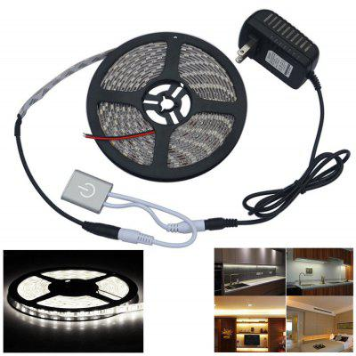 Buy COOL WHITE LIGHT Automatic Small Touch Sensor Switch Brightness Adjustment Touch Dimmer with 5M 5050SMD LED Light Strip for $15.99 in GearBest store