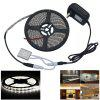Automatic Small Touch Sensor Switch Brightness Adjustment Touch Dimmer with 5M 5050SMD LED Light Strip - COOL WHITE LIGHT