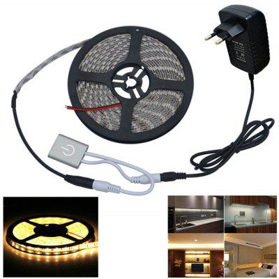 Automatic Small Touch Sensor Switch Brightness Adjustment Touch Dimmer 5M 5050SMD LED Light Strip