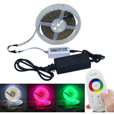 LED light Strip 5M 5050SMD 300LED RGBW With 3A Power And 2.4G Touch Controller