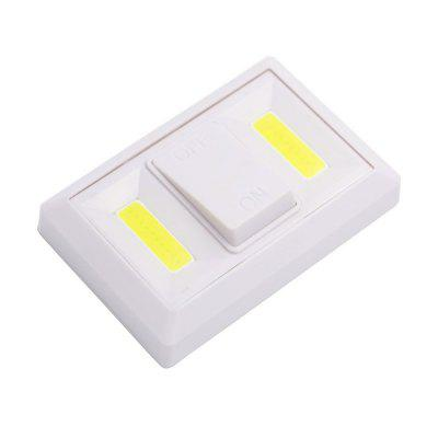 JIAWEN New Switch Light Lamp Double Dual COB Switch Night Light Bedroom Bathroom Wardrobe Closet Home Light Super Bright Emergency LampNight Lights<br>JIAWEN New Switch Light Lamp Double Dual COB Switch Night Light Bedroom Bathroom Wardrobe Closet Home Light Super Bright Emergency Lamp<br><br>Battery Quantity: 4*AAA (not included)<br>Color Temperature or Wavelength: 6000-6500K<br>Connector Type: Battery<br>Features: Decorative<br>Light Source Color: Cold White<br>Light Type: LED Night Light<br>Mini Voltage: 5V<br>Package Contents: 1 x COB LED Switch Night Light<br>Package size (L x W x H): 12.00 x 10.00 x 3.00 cm / 4.72 x 3.94 x 1.18 inches<br>Package weight: 0.0920 kg<br>Power Source: Battery<br>Product size (L x W x H): 11.20 x 7.50 x 2.30 cm / 4.41 x 2.95 x 0.91 inches<br>Product weight: 0.0820 kg<br>Production Models: Self-produce<br>Quantity: 1<br>Style: Modern<br>Wattage: 3W