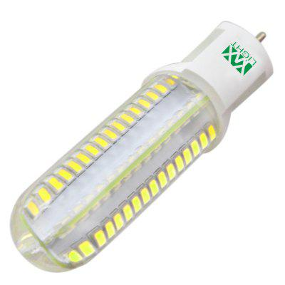 5PCS YWXLight G12 128-LED Led Bulbs Lampada LED Bi-pin Lights  Lamp AC 220 - 240VCorn Bulbs<br>5PCS YWXLight G12 128-LED Led Bulbs Lampada LED Bi-pin Lights  Lamp AC 220 - 240V<br><br>Angle: 360 Degrees<br>Available Light Color: Cold White,Natural White,Warm White<br>Brand: YWXLight<br>CCT/Wavelength: 2700-3200K,4500K,6000-6500K<br>Emitter Types: SMD 2835<br>Features: Low Power Consumption, Long Life Expectancy, Energy Saving<br>Function: Studio and Exhibition Lighting, Home Lighting<br>Holder: Other<br>Lifespan: &gt;30000 Hours<br>Luminous Flux: 700-800 LM<br>Output Power: 8W<br>Package Contents: 5 x YWXLight G12 Glass Lamp<br>Package size (L x W x H): 17.50 x 11.00 x 3.50 cm / 6.89 x 4.33 x 1.38 inches<br>Package weight: 0.2650 kg<br>Product size (L x W x H): 10.30 x 3.00 x 2.50 cm / 4.06 x 1.18 x 0.98 inches<br>Product weight: 0.2250 kg<br>Sheathing Material: Glass<br>Total Emitters: 128 LED<br>Type: Bi-pin Bulb<br>Voltage (V): AC 220-240<br>Wattage Range: 5-10W