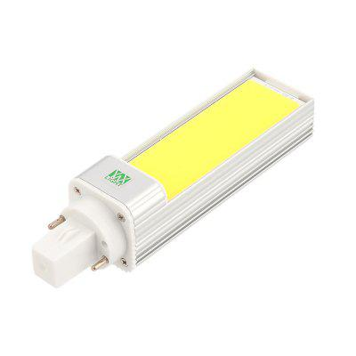 YWXLight G24 9W Super Bright Lights COB LED Bulbs Horizontal Plug Lamps AC 85 - 265V rieman academic r2240 224 212