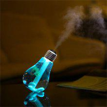 YWXLight Creative USB Mist Humidifier Home Mini Colorful LED Night Light Bulb 5V