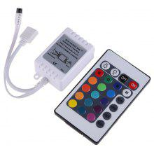 YWXLight LED RGB Controll 24-Key IR Remote Controller