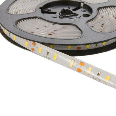 1PCS YWXLight LED Strip Lights Flexible Light Strip Waterproof ForIndoor Outdoor Lighting DC12VLED Strips<br>1PCS YWXLight LED Strip Lights Flexible Light Strip Waterproof ForIndoor Outdoor Lighting DC12V<br><br>Actual Lumens: 7500-7600LM<br>Brand: YWXLight<br>CCT/Wavelength: 2700-3200K,6000-6500K<br>Features: Low Power Consumption, Waterproof, IP-65<br>Input Voltage: DC 12V<br>LED Type: SMD-5630<br>Length: 5M<br>Material: FPC<br>Number of LEDs: 300-LED<br>Optional Light Color: Cold White,Warm White<br>Package Contents: 1 x  YWXLight 5630 Waterproof Lamp Strip<br>Package size (L x W x H): 13.50 x 13.50 x 1.50 cm / 5.31 x 5.31 x 0.59 inches<br>Package weight: 0.1000 kg<br>Product size (L x W x H): 500.00 x 1.00 x 0.40 cm / 196.85 x 0.39 x 0.16 inches<br>Product weight: 0.0940 kg<br>Rated Power (W): 78W<br>Type: LED Strip<br>Waterproof: Yes