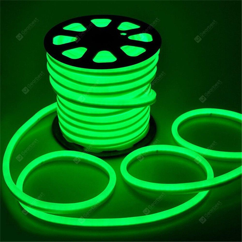 YWXLight 5M LED Strip Flexível Neon Lights Waterproof LED Light Lamp AC 220 - 240V