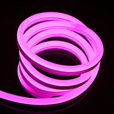 1PCS YWXLight 5M RGB Waterproof Flexible Neon Strip Rope Lights Discolour AC 220 - 240VLED Strips<br>1PCS YWXLight 5M RGB Waterproof Flexible Neon Strip Rope Lights Discolour AC 220 - 240V<br><br>Actual Lumens: 4200-4300 LM<br>Brand: YWXLight<br>Connector Type: EU plug<br>Features: Low Power Consumption, Waterproof, IP-65<br>Input Voltage: AC220<br>LED Type: SMD-5050<br>Length: 5M<br>Material: PVC<br>Number of LEDs: 80<br>Optional Light Color: RGB<br>Package Contents: 1 x YWXLight 5M Neon Light, 1 x YWXLight Power Adapter, 1 x YWXLight Remote Control<br>Package size (L x W x H): 28.00 x 28.00 x 2.00 cm / 11.02 x 11.02 x 0.79 inches<br>Package weight: 1.0410 kg<br>Product size (L x W x H): 500.00 x 2.00 x 1.00 cm / 196.85 x 0.79 x 0.39 inches<br>Product weight: 0.9680 kg<br>Rated Power (W): 45 W<br>Type: EL Wire<br>Waterproof: Yes