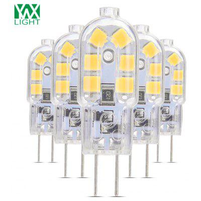 5PCS YWXLight G4 Lampe DEL Lampada Coquillage Transparent  DC 12V