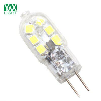 10PCS YWXLight G4 LED Lampe Lampada 360 Degree Transparent Shell DC 12VLED Bi-pin Lights<br>10PCS YWXLight G4 LED Lampe Lampada 360 Degree Transparent Shell DC 12V<br><br>Angle: 360 Degrees<br>Available Light Color: Cold White,Natural White,Warm White<br>Brand: YWXLight<br>CCT/Wavelength: 2700-3200K,4500K,6000-6500K<br>Emitter Types: SMD 2835<br>Features: Low Power Consumption, Long Life Expectancy, Instant Full Light, Energy Saving<br>Function: Home Lighting, Studio and Exhibition Lighting, Commercial Lighting<br>Holder: G4<br>Lifespan: ?30000 Hours<br>Luminous Flux: 200-300 LM<br>Output Power: 3W<br>Package Contents: 10 x YWXLight G4 LED Bi-pin Light<br>Package size (L x W x H): 7.50 x 4.50 x 3.00 cm / 2.95 x 1.77 x 1.18 inches<br>Package weight: 0.0300 kg<br>Product size (L x W x H): 3.60 x 1.20 x 1.20 cm / 1.42 x 0.47 x 0.47 inches<br>Product weight: 0.0200 kg<br>Sheathing Material: PC<br>Total Emitters: 12 LED<br>Type: Bi-pin Bulb<br>Voltage (V): DC 12V<br>Wattage Range: ?5W