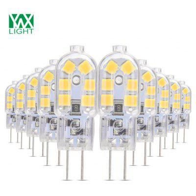 10PCS YWXLight G4 Lampe DEL Lampada 360 Degrés Transparent Coquillage DC 12V
